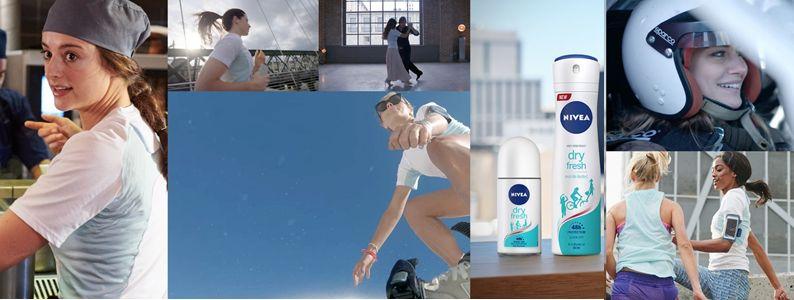 Încearcă noile deodorante NIVEA, inspirate de tine