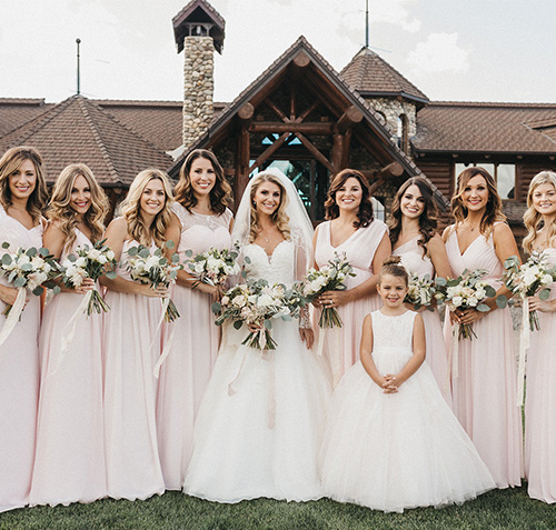 Bridesmaid dresses for UK