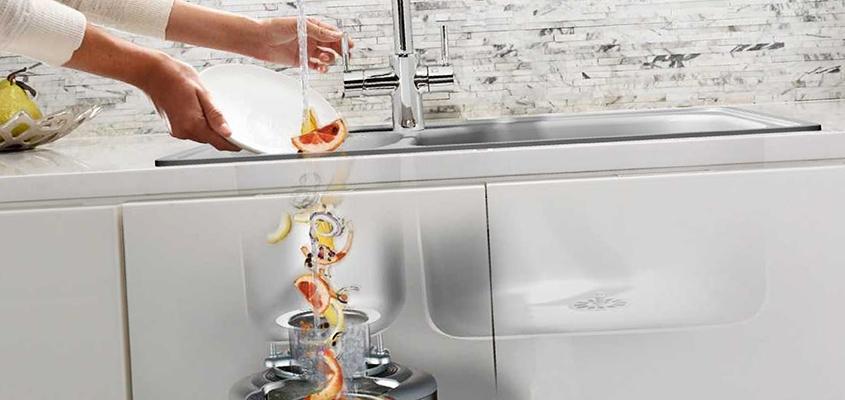 Pompa cu tocator pentru bucatarie. Principiul de lucru